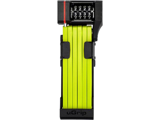 ABUS Bordo uGrip 5700C/80 SH Vouwslot, geel/zwart